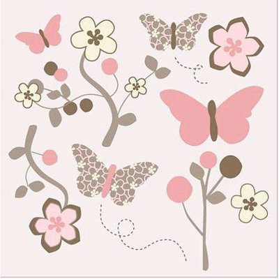 Mia Rose CoCaLo Removable Wall Appliques, Decals