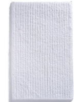 Hotel Collection White Shop Ribbed Rug Bedding