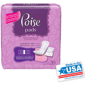 Poise Moderate Absorbency Pads