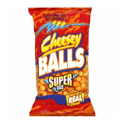 BARREL O'FUN SNACK FOOD CO Barrel O' Fun Cheesey Balls Snack