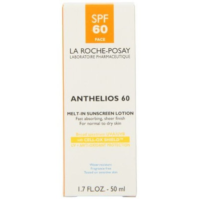 La Roche-Posay Anthelios 60 Melt-In Sunscreen Lotion, 1.7-Ounce Bottle