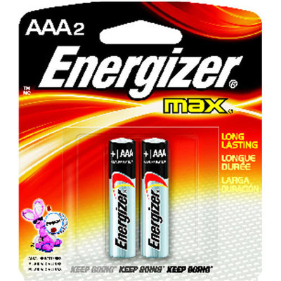 Energizer Max AAA Alkaline Batteries - 2 pack
