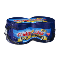Chicken of the Sea Solid White Albacore Tuna in Water - 4 CT