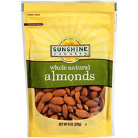 Generic Sunshine Country Whole Natural Almonds, 8 oz