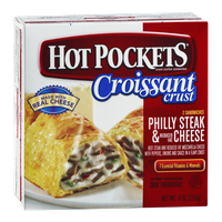 Hot Pockets Croissant Crust Philly Steak & Reduced Fat Cheese - 2 CT