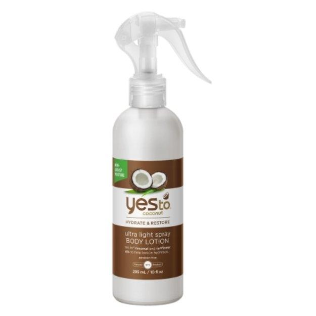 Yes to Coconut Ultra Light Spray Body Lotion, 10 fl oz