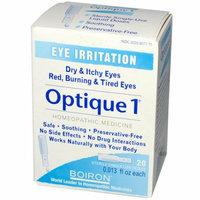 Boiron Optique 1 Minor Eye Irritation Drops 20 Doses