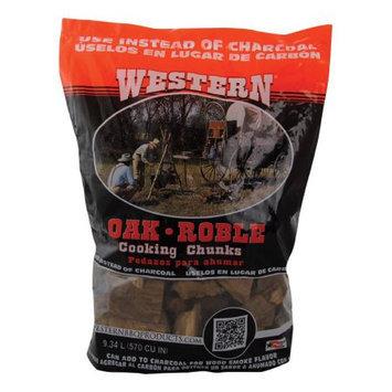 Western Wood Cooking Chunks - Oak - 10 lbs