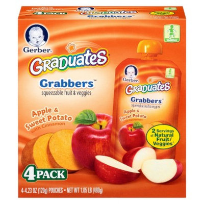 Gerber Graduates Nestlé Baby Food - Fruit And Vegetable Apple 1.05 lb