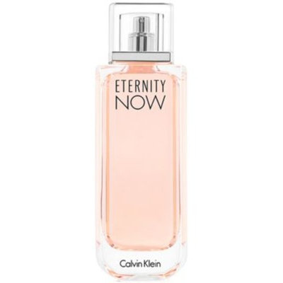 Receive a Complimentary Deluxe Mini with large spray purchase from the Calvin Klein ETERNITY NOW for women fragrance collection