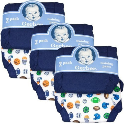 Gerber Training Pants (6-pairs)