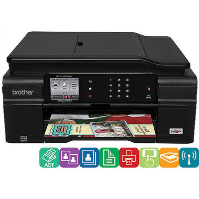 Brother RY9420B Brother Printer MFCJ650DW Wireless Color Printer with Scanner Copier and Fax