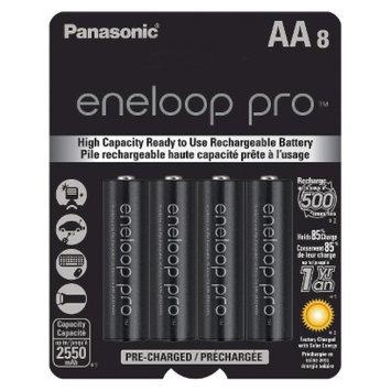 Panasonic HR-3UWXA8A Xx 8pk Aa Ni-mh Batteries Supl