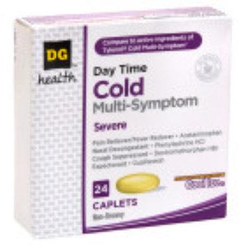 Dg Health DG Health Daytime Cold Multi-Symptom Caplets - Severe - 24 ct