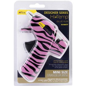 Ad-tech Designer Mini Glue Gun-High Temp Zebra