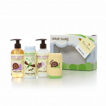 Little Twig Organic Baby Basics Bath Set