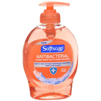 Softsoap Antibacterial Hand Soap with Moisturizers Crisp Clean
