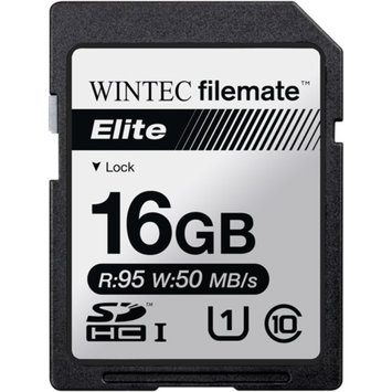 FileMate Wintec Filemate Elite 16GB SDHC UHS-1 Memory Card Class 10