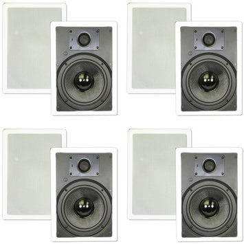 Theater Solutions Symphony TSS8W 300 W RMS Speaker - 2-way - 28 Hz to 21 kHz - 8 Ohm - In-wall