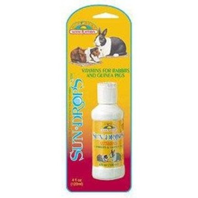 Sunseed Sundrops Vitamins for Rabbits & Guinea Pigs