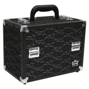 Caboodles Black LACE CASE - 11.25''