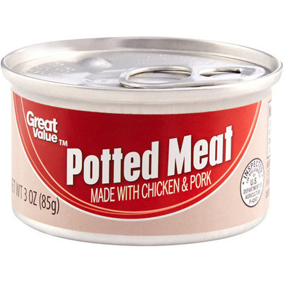 Great Value Potted Meat, 3 oz