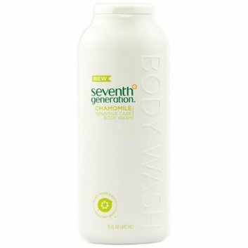 Seventh Generation Sensitive Care Body Wash Chamomile 15 fl oz Case of 3