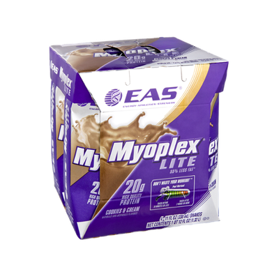 Eas Myoplex Lite Cookies & Cream Shakes - 4 CT