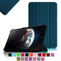 Fintie Ultra Slim Lightweight SmartShell Case Cover for Lenovo Thinkpad 8.3-Inch Windows 8.1), Navy
