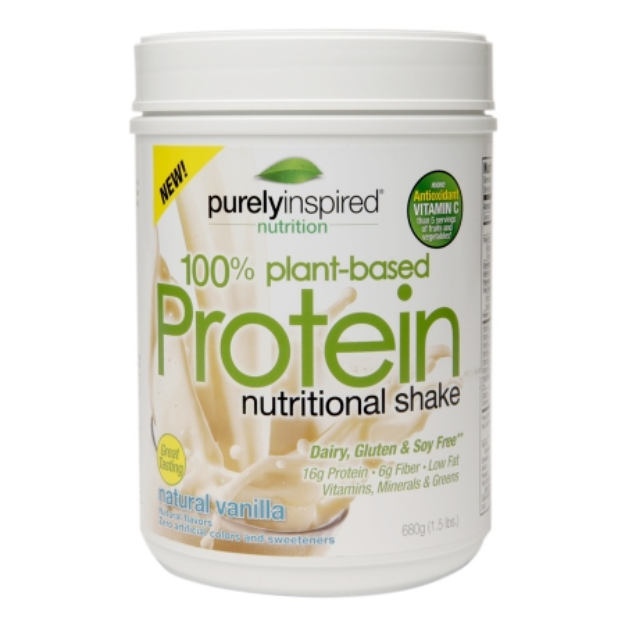Purely Inspired 100% Plant-Based Protein Nutritional Shake Vanilla