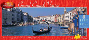 Blue Opal World Panoramas - Grand Canal, Venice Puzzle: 500 Pcs