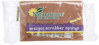 Natural Value Walnut Scrubber Sponge (Pack of 24)