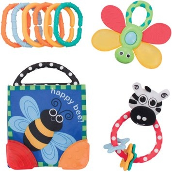 Sassy Rattle and Teether Gift Set