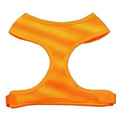 Mirage Pet Products Soft Mesh Dog Harnesses, Medium, Orange