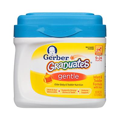 Gerber® Graduates® Gentle Infant Formula Powder