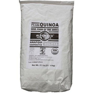 Alter Eco - Organic Royal Pearl Quinoa - 25 lbs