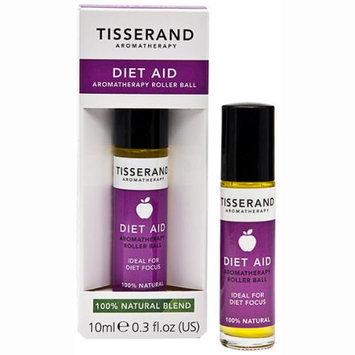 Tisserand Aromatherapy - Roller Ball Diet Aid Essential Oil Remedy - 0.3 oz.