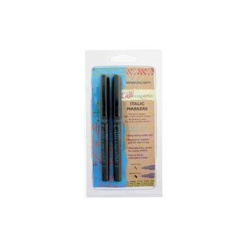 Manuscript Pen NOTM277921 - Manuscript CalliCreative Markers 1.4mm & 3.6mm 2/Pkg