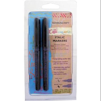 Manuscript Pen Manuscript CalliCreative Markers 1.4mm & 3.6mm 2/Pkg