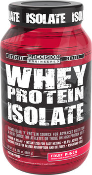 Precision Engineered Whey Protein Isolate Fruit Punch-2 lb-Powder