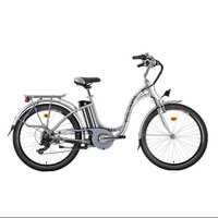 Cyclamatic GTE Step-Through Electric Bike with Lithium-Ion Battery