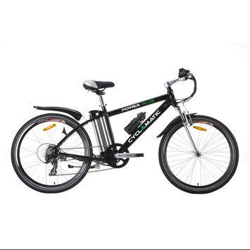 Cyclamatic Bicycle Electric Foldaway Bike with Lithium-Ion Battery - Black