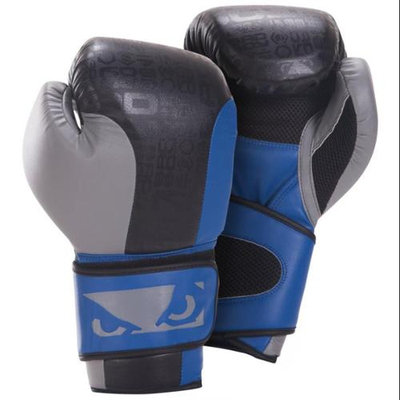 Bad Boy Mma Bad Boy Legacy Boxing Gloves - Black/Blue/Grey - 16oz