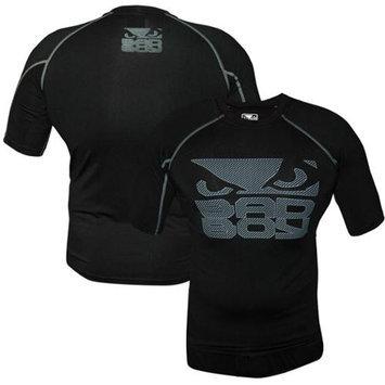 Bad Boy Mma Bad Boy Engage Short Sleeve MMA Rashguard - Small - Black