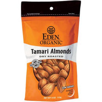 Eden Organic Tamari Dry Roasted Almonds, 4 oz