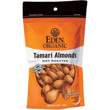 Eden Organic Tamari Dry Roasted Almonds, 4 oz