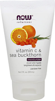 NOW Foods - Moisturizer Vitamin C & Sea Buckthorn - 2 oz.