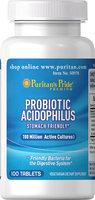 Puritan's Pride 2 Units of Probiotic Acidophilus-100-Tablets