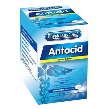 Physicianscare Antacid (Tablet, 420mg) [PK/125]. Model: 90110G