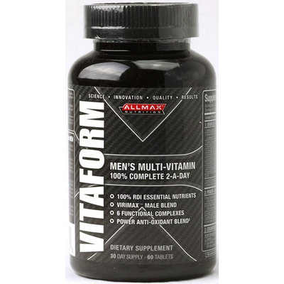 ALLMAX Nutrition Vitaform Men's Multi-Vitamin 60 Tablets